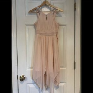 Rare Editions - Pink Chiron Scarf Dress